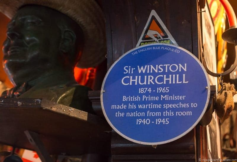 top Winston Churchill sites in England
