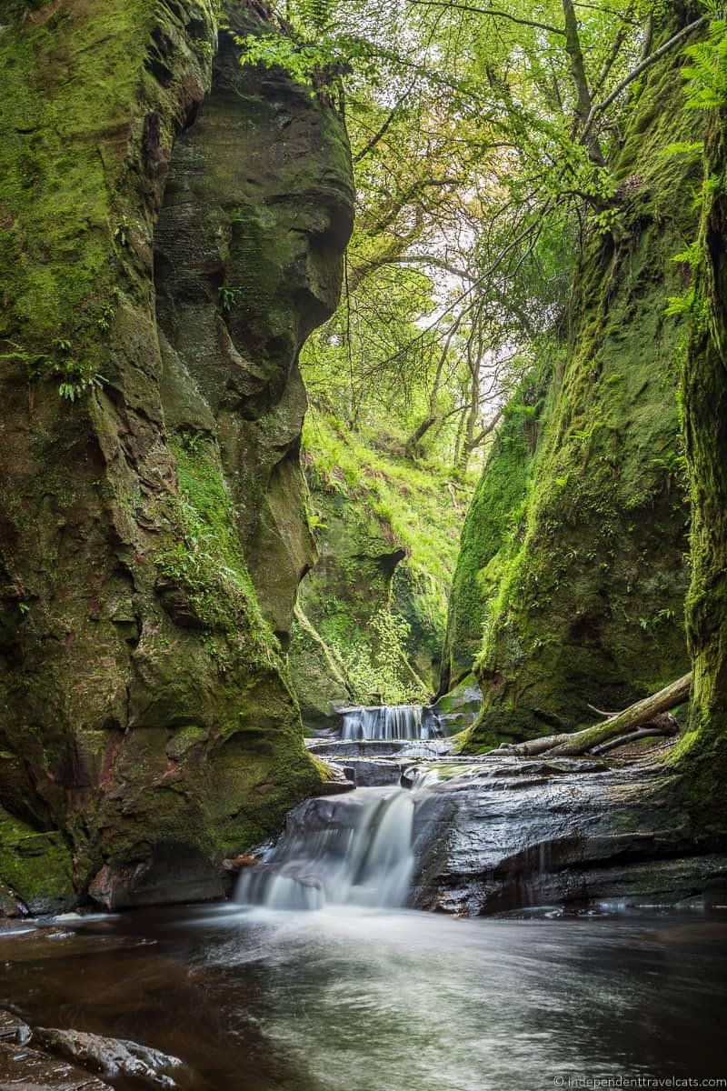 Devil's Pulpit waterfalls things to do in Loch Lomond & the Trossachs National Park