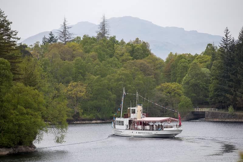 steamship cruise things to do in Loch Lomond & the Trossachs National Park