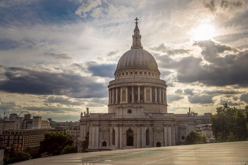 St. Paul's Cathedral - top Winston Churchill sites in England