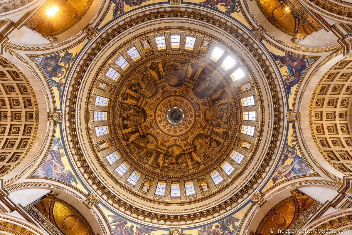 St. Paul's Cathedral ceiling London