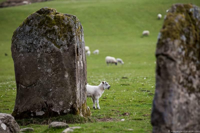 Kinnell stone circle Killin things to do in Loch Lomond & the Trossachs National Park