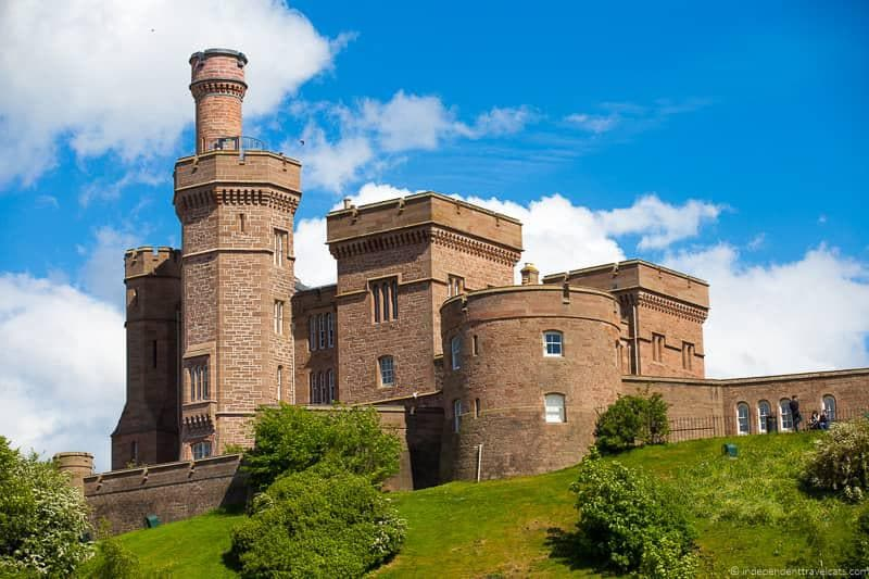Inverness Castle North Coast 500 road trip guide