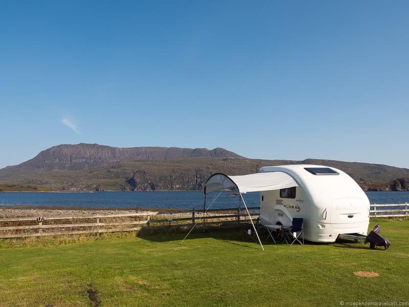 caravan North Coast 500 road trip guide Scotland