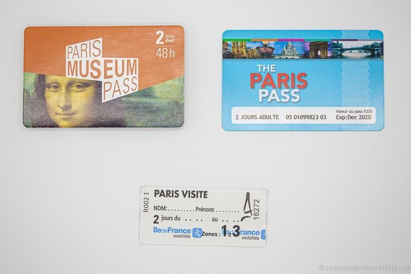 Paris Pass Paris Visite Pass Paris Museum Pass