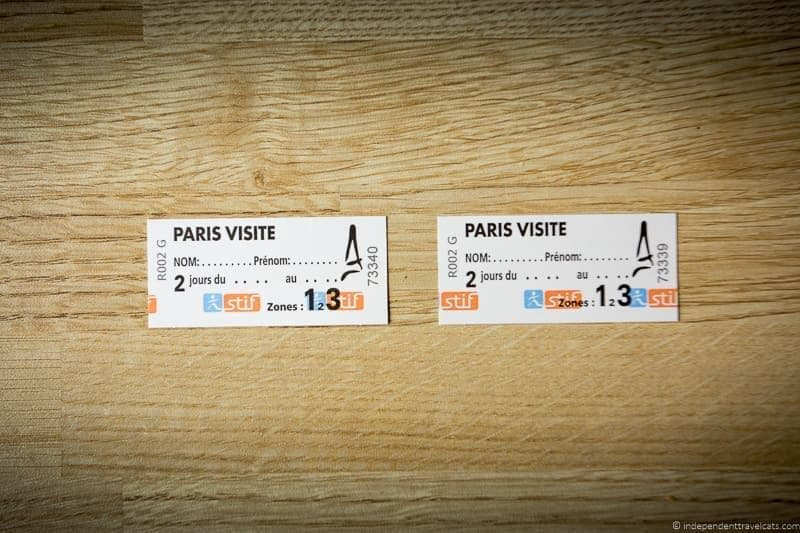 Paris Visite travel card Paris Pass review worth it public transportation