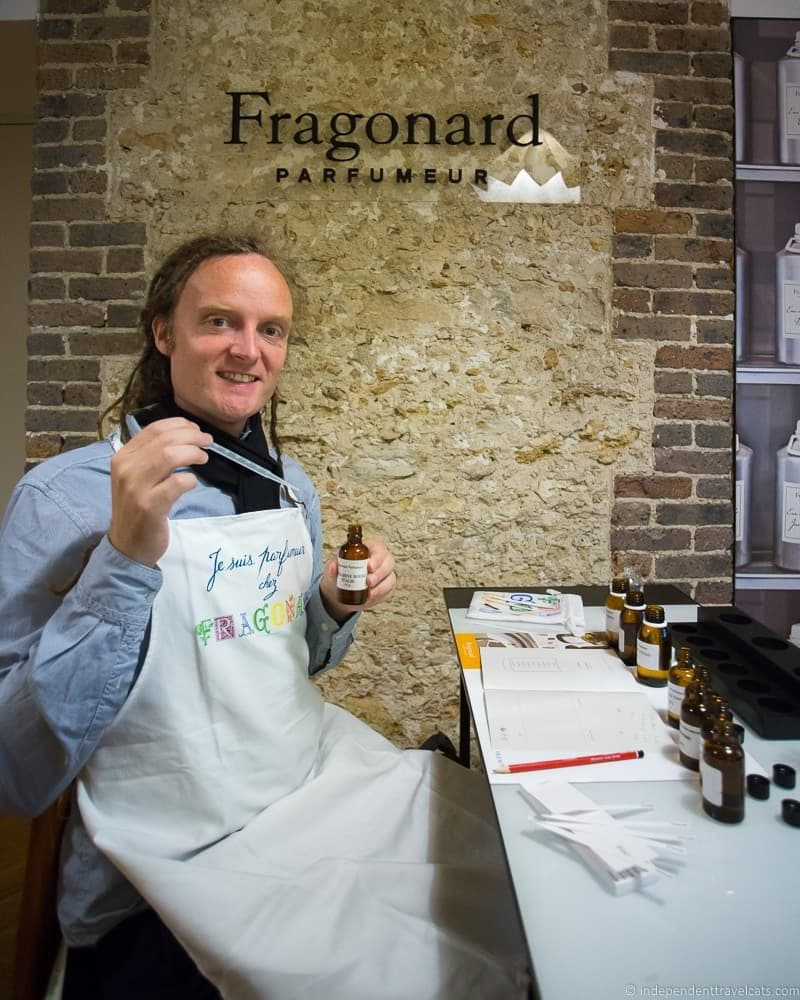 Fragonard Paris Perfume workshop France