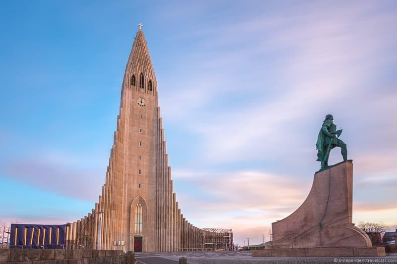 Hallgrimskirkja Iceland in winter activities day trips tours