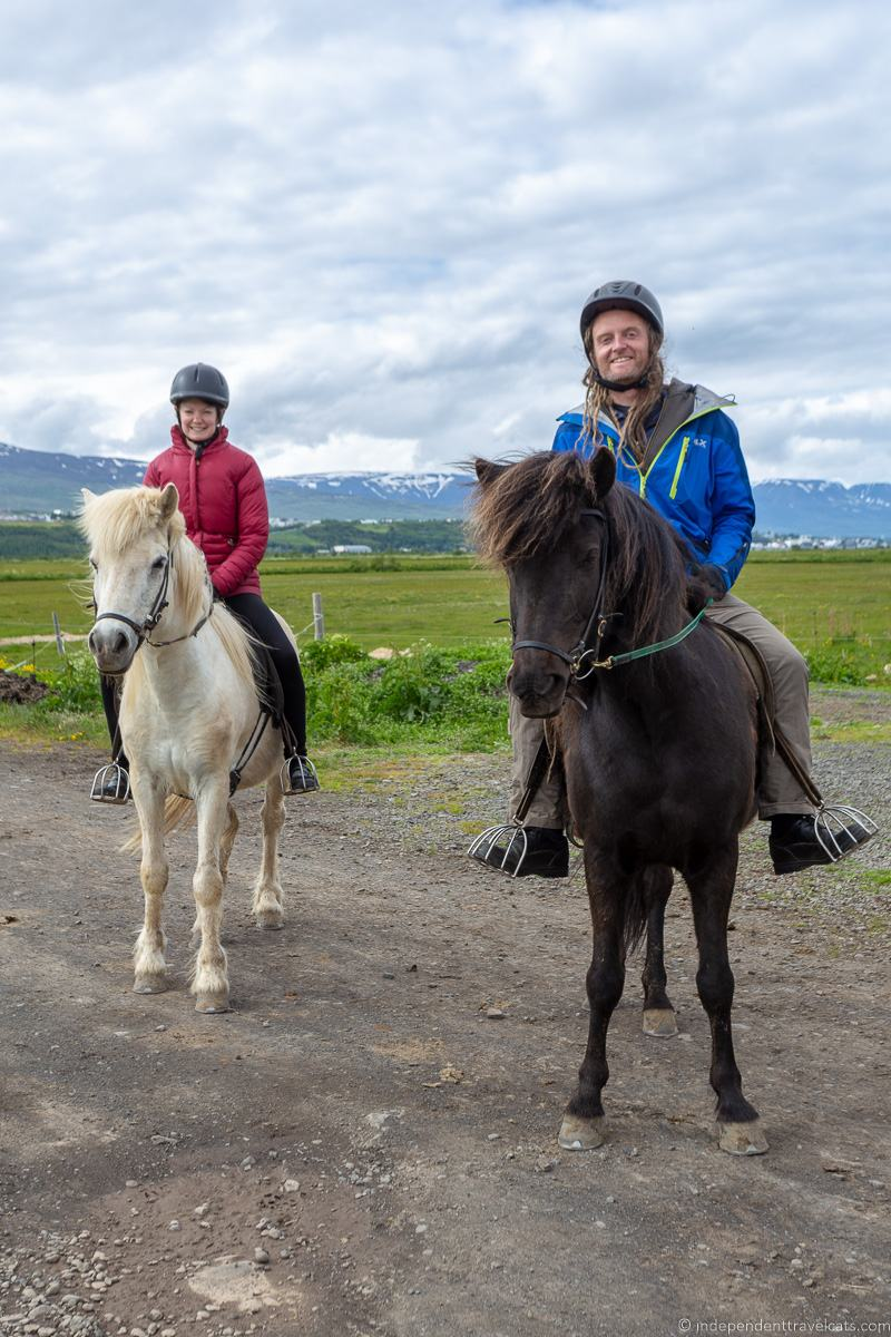 horse riding tours Iceland in winter activities day trips tours