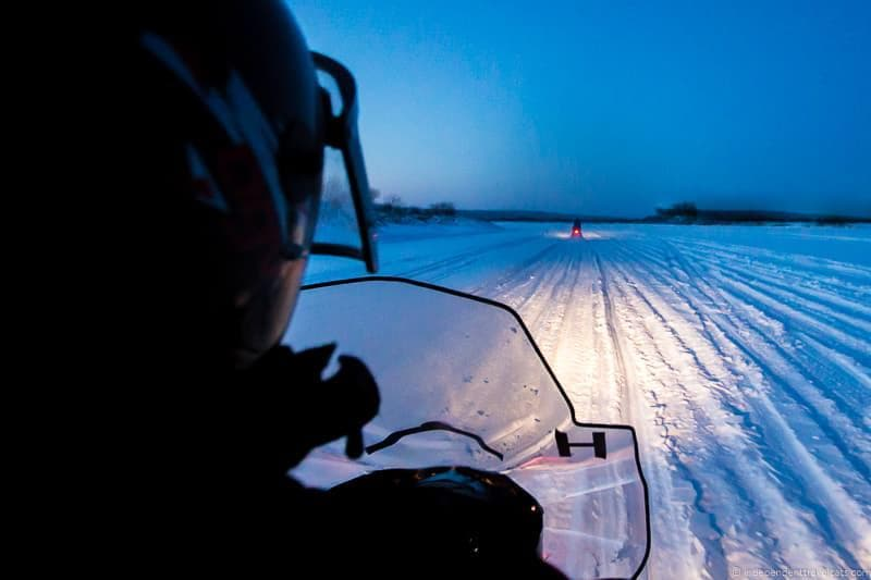 snowmobiling Iceland in winter activities day trips tours