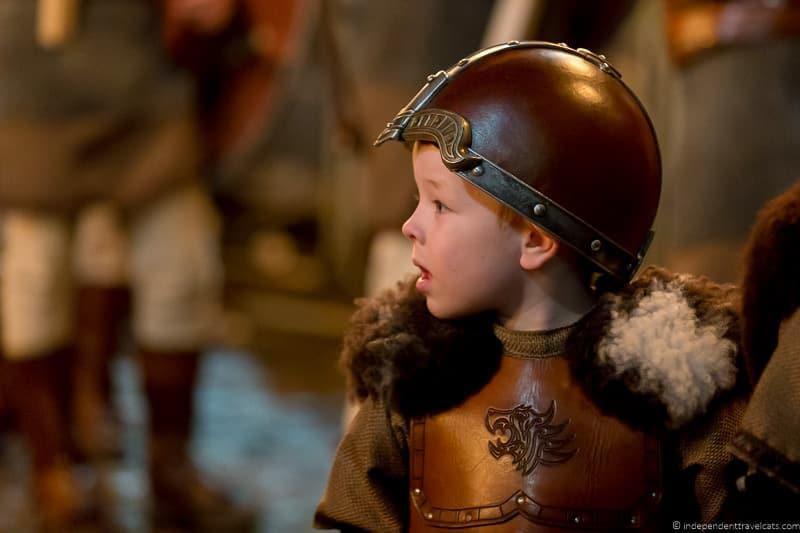 young Viking Hogmanay in Edinburgh Scotland
