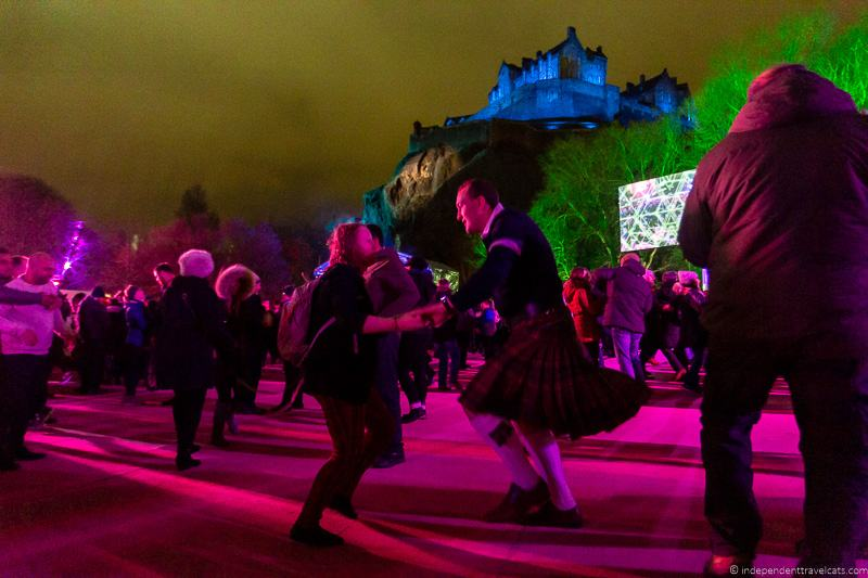 Ceilidh Edinburgh Castle Edinburgh's Hogmanay Hogmanay in Edinburgh New Year's Eve