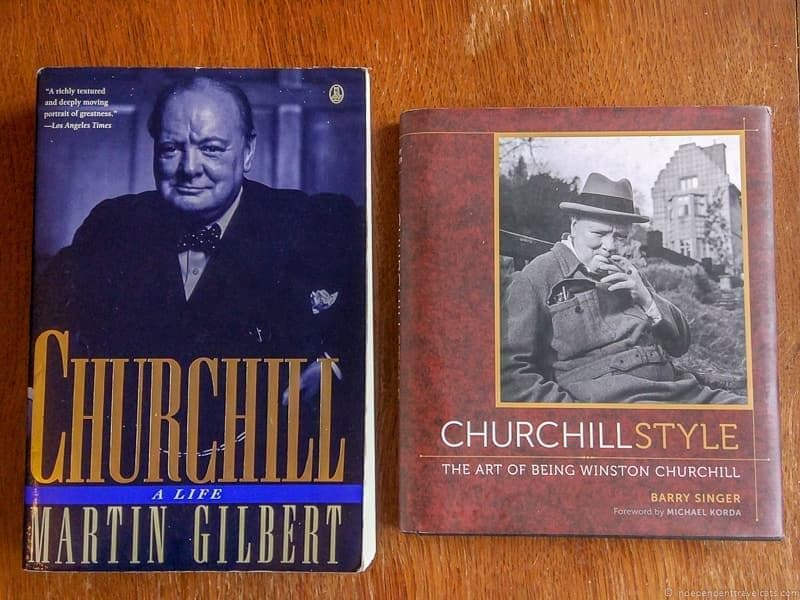 Winston Churchill books biography