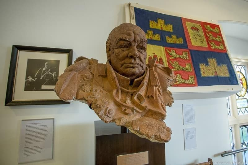 Harrow bust Winston Churchill in London sites attractions England UK