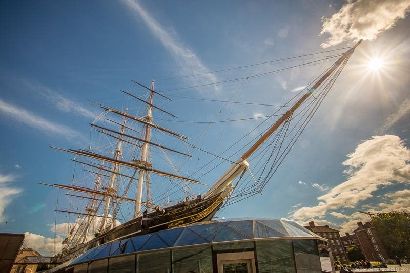 Cutty Sark Visiting the UNESCO World Heritage Sites in London