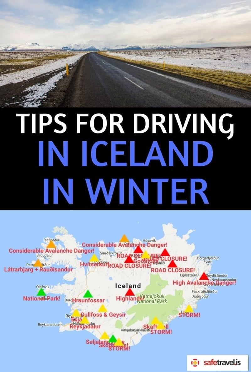 A practical & helpful guide to driving in Iceland in winter. We cover everything you need to know to be prepared for driving in Iceland during the winter. We'll tell you what road conditions are like in Iceland in winter, what kind of car to rent, the best areas of Iceland to visit (and avoid) in the winter, how to prepare for a winter Iceland road trip, and how to stay safe. #Icelandtravel #wintertravel #Icelandroadtrip #driving #Icelandinwinter #drivinginwinter
