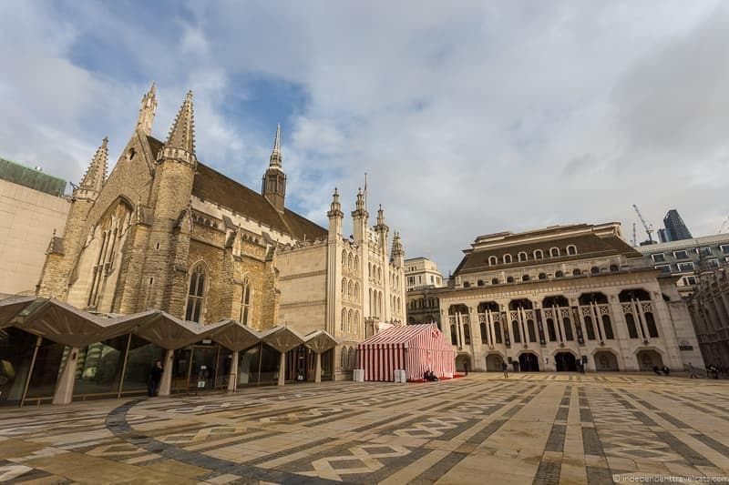 Guildhall Winston Churchill in London sites attractions England UK