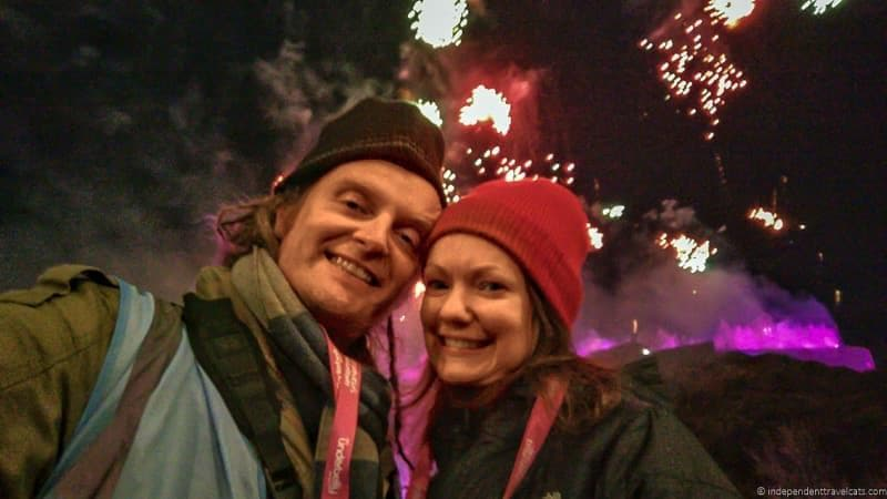 Hogmanay in Edinburgh Scotland