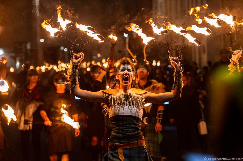 Pyroceltica Torchlight Procession The Hub Edinburgh's Hogmanay Hogmanay in Edinburgh New Year's Eve