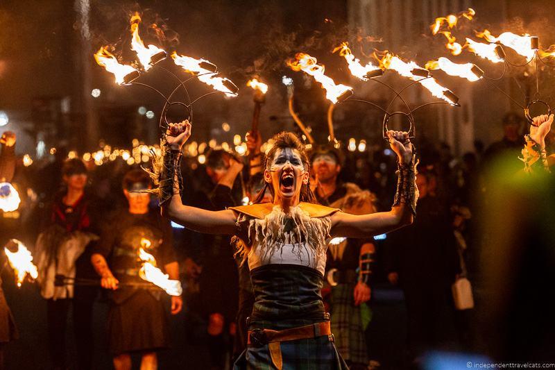 Pyroceltica Torchlight Procession The Hub Edinburgh's Hogmanay Hogmanay in Edinburgh New Year's Eve