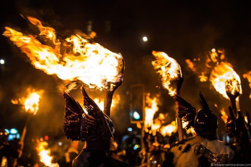torchlight procession Edinburgh Hogmanay in Edinburgh Scotland New Year's Eve festival