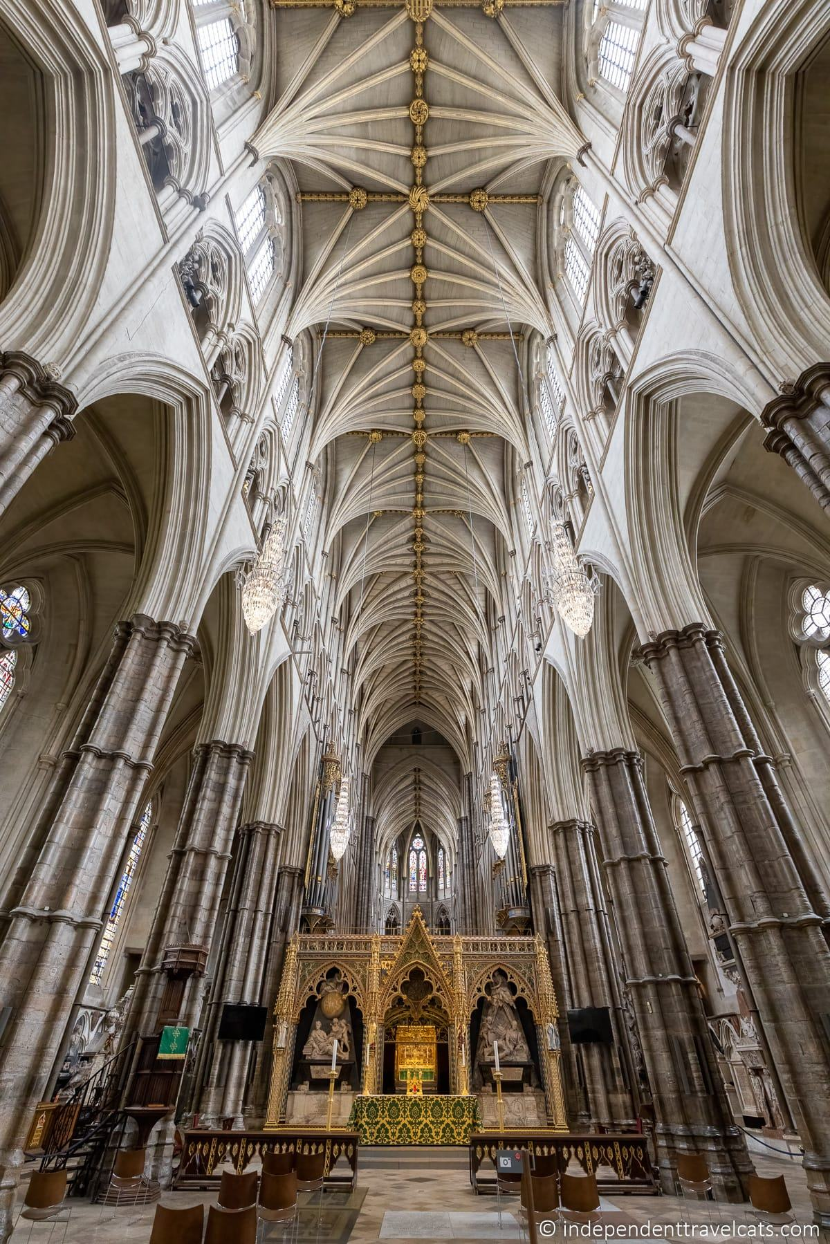 Westminister Abbey in London England