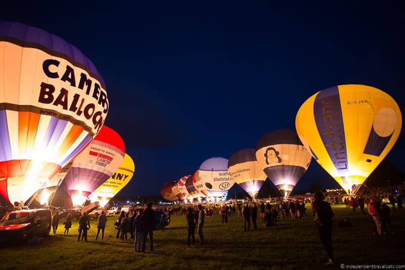 nightglow Bristol Balloon Fiesta England UK