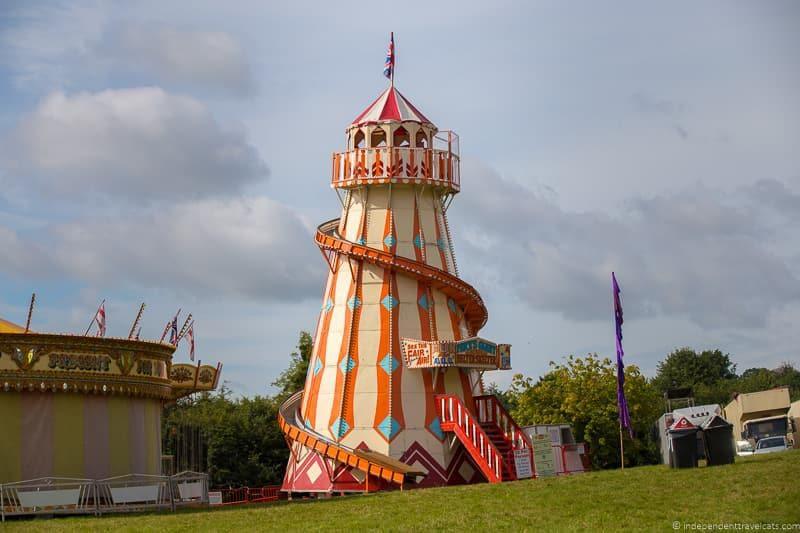 rides Bristol Balloon Fiesta England UK