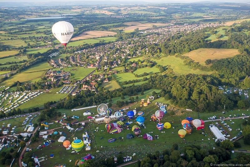 Bristol Balloon Fiesta England UK