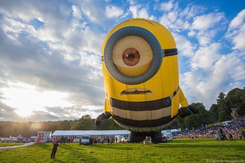 Stuart Minions Bristol Balloon Fiesta England UK