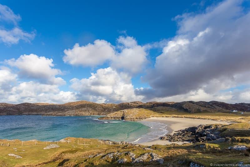 Achmelvich Beach North Coast 500 itinerary Scotland