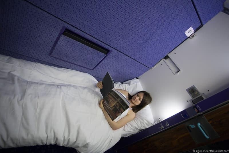 Caledonian Sleeper how to get from London to Edinburgh Scotland