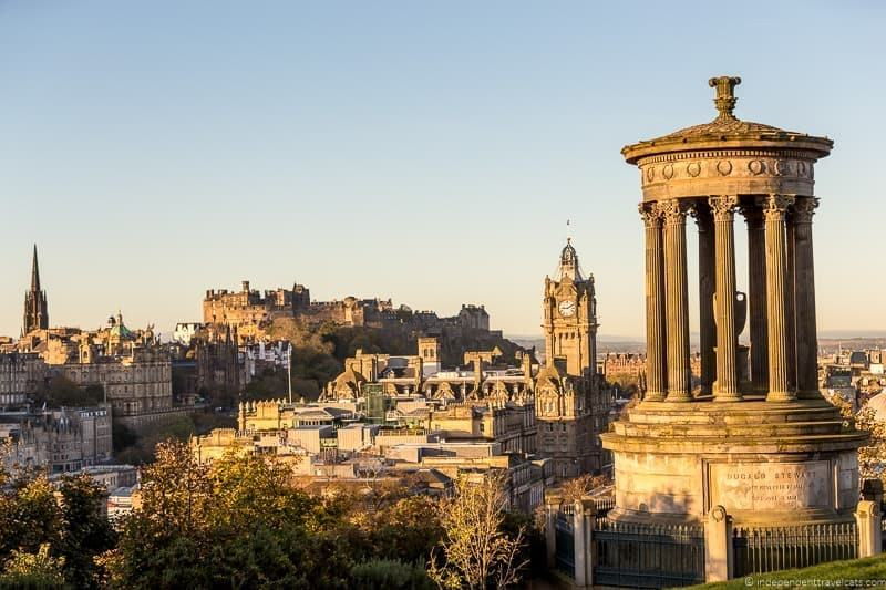 a guide to how to get from london to edinburgh scotland