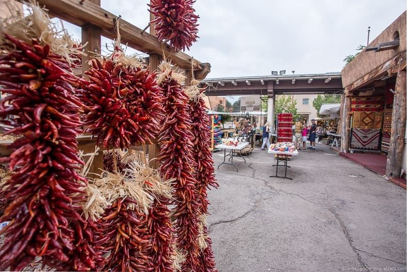 ristras red chiles New Mexico Route 66 itinerary detailed guide