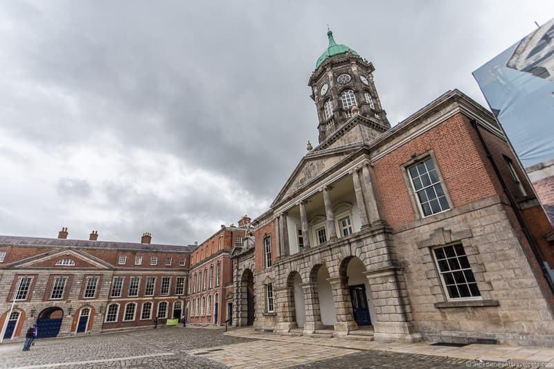 Dublin Castle 3 days in Dublin itinerary Ireland