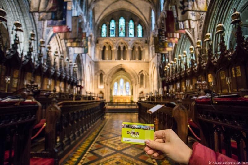 Dublin pass 3 days in Dublin itinerary Ireland