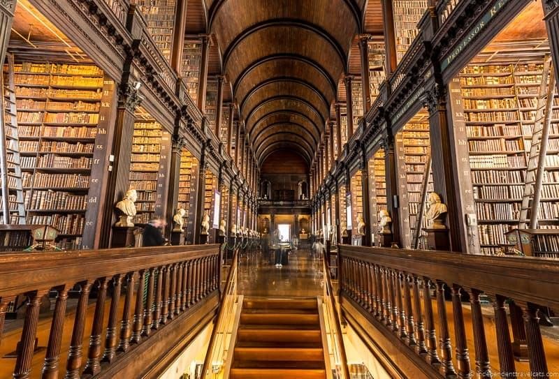 Long Room 3 days in Dublin itinerary Ireland