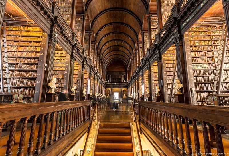 Long Room 3 days in Dublin itinerary Ireland