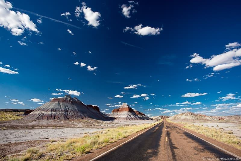 Painted Desert AZ Route 66 itinerary detailed guide