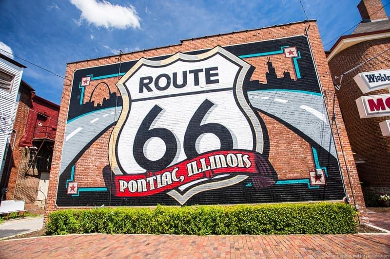 Pontiac IL 2 week Route 66 itinerary detailed guide