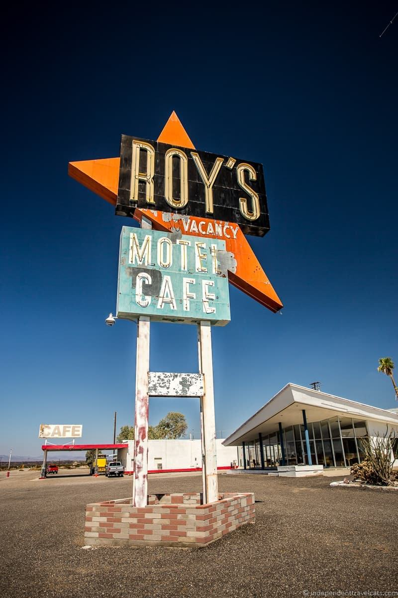 Roy's Cafe Amboy CA 2 week Route 66 itinerary detailed guide