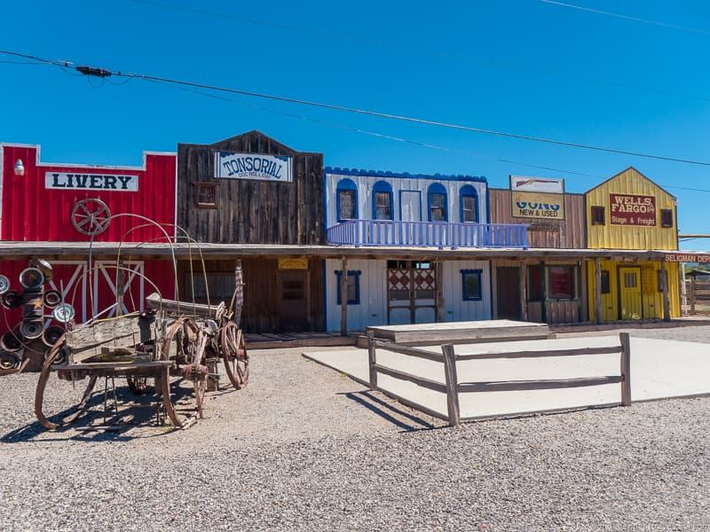 Seligman AZ 2 week Route 66 itinerary detailed guide