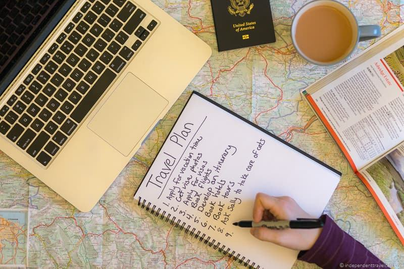travel planning travel stress travel anxiety