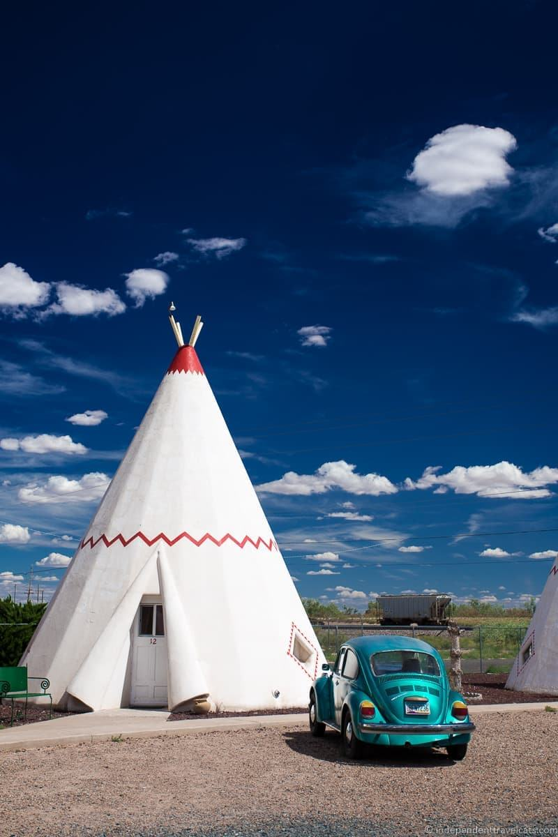 Wigwam Motel Holbrook AZ 2 week Route 66 itinerary detailed guide