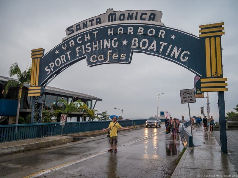 Santa Monica Pier California 2 week Route 66 itinerary detailed guide