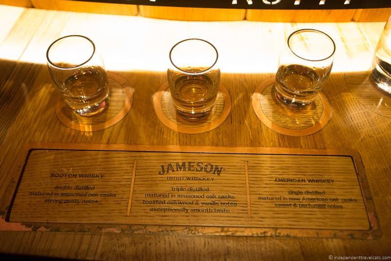 Jameson Distillery 3 days in Dublin itinerary Ireland