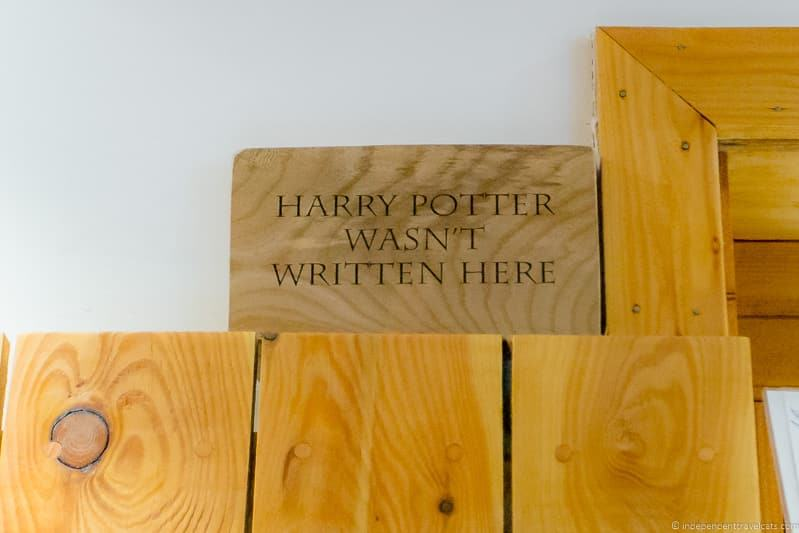 cafes where JK Rowling wrote Harry Potter in Edinburgh Scotland