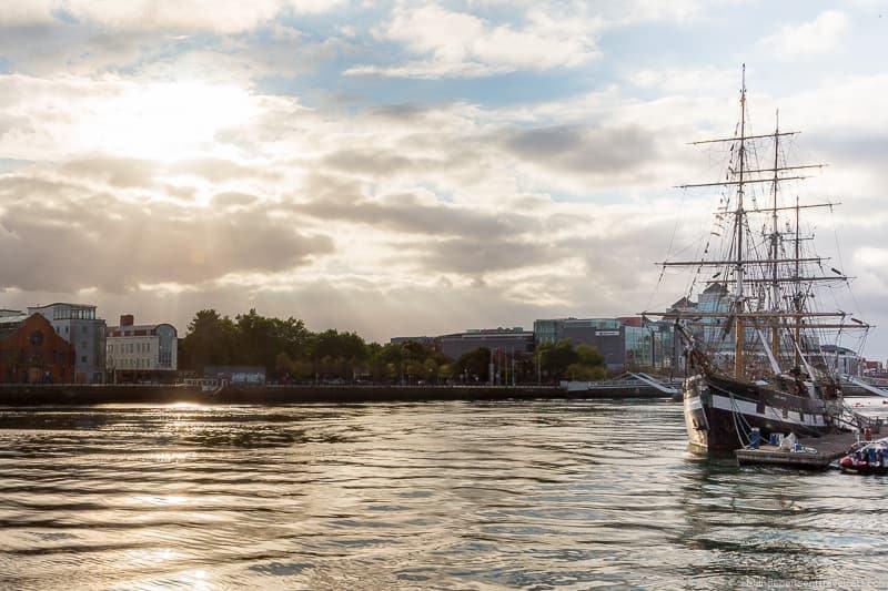 Jeanie Johnston tallship 3 days in Dublin itinerary Ireland