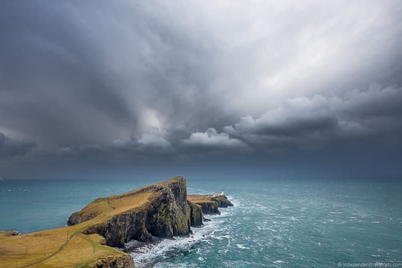 Neist Point how to avoid crowds on the Isle of Skye