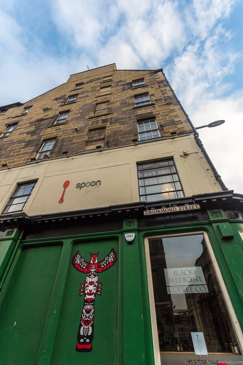 Places Where JK Rowling Wrote Harry Potter in Edinburgh Scotland